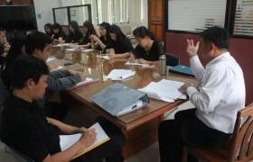 รูปภาพ : ประชุมชี้แจงการวิเคราะห์ค่างานระดับชำนาญการ