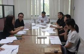 รูปภาพ : การประชุมการควบคุมภายในและการบริหารความเสี่ยง 2560