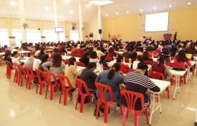 รูปภาพ : สาขาวิชาภาษาอังกฤษ มทร.ล้านนา ลำปาง จัดอบรมปรับพื้นฐานภาษาอังกฤษให้นักศึกษาใหม่ ปีการศึกษา 2560