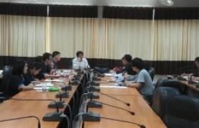 รูปภาพ : ประชุมการจัดกิจกรรมรับน้องและประชุมเชียร์ ประจำปีการศึกษา2560