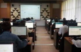 รูปภาพ : งานวิทยบริการฯ (ห้องสมุด) จัดอบรมการใช้งานฐานข้อมูลวิจัย