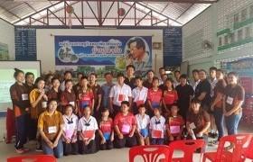 รูปภาพ : กลุ่มวิชาการท่องเที่ยวจัดอบรมมัคคุเทศก์น้อย ณ โรงเรียนบ้านร่องก๊อ