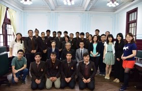 Image : RMUTL Students Council opens the vision for educational exchange and learning activities of students in the University of Taiwan