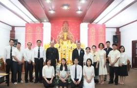 รูปภาพ : ศูนย์วัฒนธรรมศึกษา จัดโครงการส่งเสริมพระพุทธศาสนาเนื่องในวันเข้าพรรษา