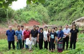 รูปภาพ : ติดตามความก้าวหน้าโครงการยกระดับคุณภาพชีวิตของหมู่บ้าน ชุมชน แบบมีส่วนร่วม กรณีหมู่บ้านห้วยหาด ตำบลอวน อำเภอปัว จังหวัดน่าน ปี 2560