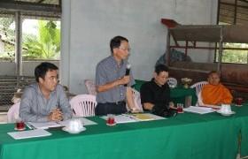 รูปภาพ : ติดตามความก้าวหน้าการดำเนินงานโครงการยกระดับคุณภาพชีวิตของหมู่บ้าน ชุมชน แบบมีส่วนร่วม ประจำปีงบประมาณ 2560 กรณีหมู่บ้านแม่กาษาโพธิ์เงิน หมู่ 14 ต.แม่กาษา อ.แม่สอด จ.ตาก