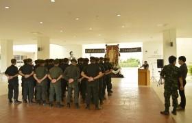 รูปภาพ : ตัวแทนจากศูนย์การฝึกนักศึกษาวิชาทหาร มณฑลทหารบกที่ 33 เข้าเยี่ยมชมงานนักศึกษาวิชาทหาร วิทยาลัยเทคโนโลยีและสหวิทยาการ