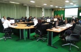 รูปภาพ : ประชุมติดตามความก้าวหน้า และเตรียมความพร้อมงานสัปดาห์วิทยาศาสตร์ฯ