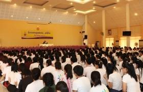 รูปภาพ : ฝ่ายกิจการนักศึกษา มทร.ล้านนา ลำปาง จัดโครงการคุณธรรม จริยธรรม