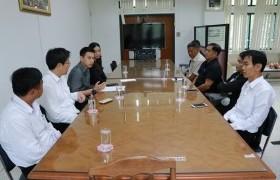 รูปภาพ : มทร.ล้านนา ชร. และเทศบาลตำบลหงาวประชุมหารือความร่วมมือทางวิชาการ