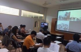 รูปภาพ : อาจารย์สาขาวิศวกรรมไฟฟ้าและสาขาวิศวกรรมและเทคโนโลยี ประชุมเพื่อกำหนดวิธีการคัดเลือกหัวหน้าสาขา
