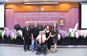 รูปภาพ : นักศึกษารางวัลพระราชทาน มทร.ล้านนา ร่วมเสวนา สกอ.การจัดการศึกษาสำหรับคนพิการ