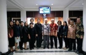 รูปภาพ : การประชุมเชิงปฏิบัติการจัดทำแผนการเรียนร่วมกันระหว่าง มทร.ล้านนา และ University of Brawijaya, Indonesia