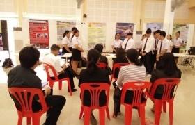 รูปภาพ : รายวิชากระบวนการคิดและการแก้ปัญหา จัดผลงานแสดงต้นแบบของนักศึกษารอบที่สอง