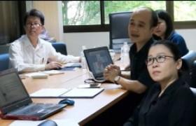 รูปภาพ : มทร.ล้านนา ลำปาง ร่วมประชุมติดตามผลการดำเนินงานวิจัย