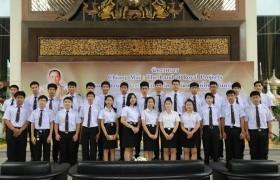 """รูปภาพ : คณาจารย์และนักศึกษา มทร.ล้านนา ร่วมพิธีเปิดนิทรรศการ """"Chiang Mai : The Land of Royal Projects น้อมสืบสานพระราชปณิธานสู่ชีวิต ธ สถิตเคียงคู่ไทยนิรันดร์กาล"""
