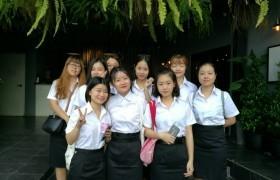 รูปภาพ : นักศึกษาแลกเปลี่ยนจาก Chongqing University of Technology (CQUT) สาธารณรัฐประชาชนจีน