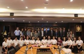 รูปภาพ : การประชุมร่วมกับคณะผู้แทนจาก Chongqing Technology and Business University (CTBU) สาธารณรัฐประชาชนจีน