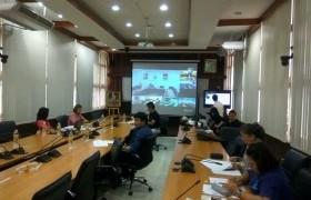 รูปภาพ : ประชุมชี้แจงแนวทางการดำเนินงานโครงการบริการวิชาการ ประจำปีงบประมาณ 2561