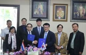รูปภาพ : การประชุมร่วมกับผู้แทนจาก Korea University of Technology and Education (KOREATECH) สาธารณรัฐเกาหลีใต้