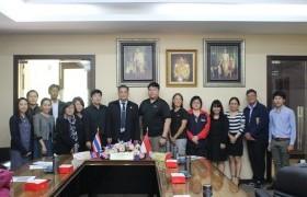 รูปภาพ : การประชุมร่วมกับผู้แทนจาก Singapore Polytechnic