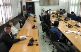 รูปภาพ : ประชุมแนวทางการดำเนินงานด้านบริการวิชาการร่วมกับธนาคารออมสิน
