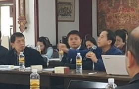 รูปภาพ : ประชุมโครงการติดตามผลการดำเนินงานเร่งรัดการเบิกจ่าย ปีงบประมาณ พ.ศ. 2561
