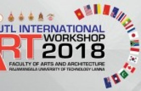 รูปภาพ : RMUTL International Art Workshop 2018