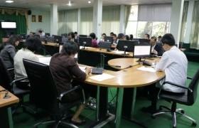 รูปภาพ : สำนักประกันคุณภาพการศึกษา มทร.ล้านนา จัดประชุมผ่านระบบ Conference ๖ พื้นที่ ติดตามผลการดำเนินงานฯ