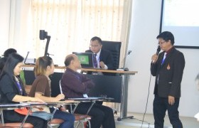 """Image : RMUTL participate knowledge sharing a good action plan in the seminar """"the knowledge management for driving Thailand 4.0"""""""