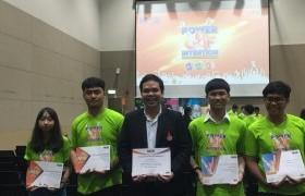 รูปภาพ : 2 นักศึกษาสารสนเทศ คว้า 2 เหรียญ MOS Olympic Thailand Competition 2018