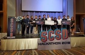 รูปภาพ : อาจารย์ มทร.ล้านนา เชียงราย คว้ารางวัลชนะเลิศจากการแข่งขัน SCSD : HACKATION 2018