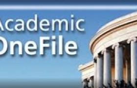 รูปภาพ : เปิดทดลองใช้งานฐานข้อมูล  Gale Academic OneFile