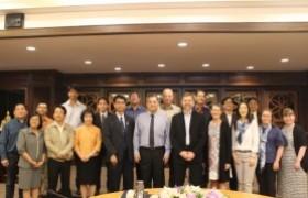 รูปภาพ : การประชุมร่วมกับผู้แทนจาก FinUni, UTA ประเทศฟินแลนด์ และ มทร.ธัญบุรี