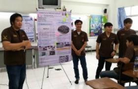 รูปภาพ : นศ.สาขาวิศวกรรมโยธา นำเสนอผลการปฏิบัติงานนักศึกษาฝึกงาน ประจำภาคเรียนที่ 3/2560