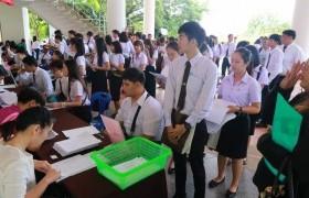 รูปภาพ : ภาพบรรยาการศการรายงานตัวนักศึกษาใหม่มหาวิทยาลัยเทคโนโลยีราชมงคลล้านนา เชียงราย ประจำปีการศึกษา 2561