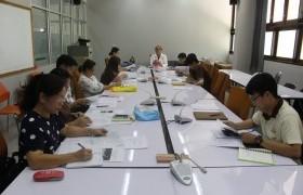 รูปภาพ : การประชุมผลการสำรวจภาวะการมีงานทำของบัณฑิต มหาวิทยาลัยเทคโนโลยีราชมงคลล้านนา