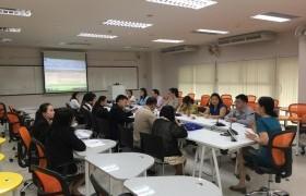 รูปภาพ : ประชุมติดตามผลการดำเนินงานการประกันคุณภาพการศึกษาภายใน ระดับสถาบัน ปีการศึกษา60