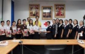 รูปภาพ : ต้อนรับผู้แทนเหล่ากาชาดในการเยี่ยมนักศึกษาในพระราชานุเคราะห์สมเด็จพระเทพรัตนราชสุดาฯ สยามบรมราชกุมารี