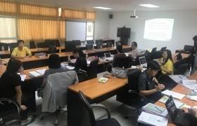 รูปภาพ : วิทยาลัยเทคโนโลยีและสหวิทยาการ เข้าร่วมโครงการตรวจประกันคุณภาพการศึกษาภายใน ระดับคณะ ประจำปี 2560