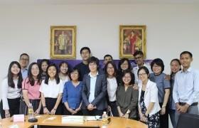 รูปภาพ : การประชุมร่วมกับผู้แทนและนักศึกษาจาก Temasek Polytechnic และ Ngee Ann Polytechnic ประเทศสิงคโปร์