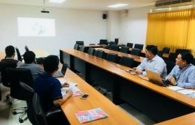 รูปภาพ : ตัวแทนบริษัท SIEMENS เข้าหารือกับคณาจารย์หลักสูตรวิศวกรรมเมคคาทรอนิกส์ วิทยาลัยฯ