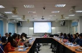 รูปภาพ : การประชุมปรึกษาหารือปัญหาและแนวทางการแก้ไขปัญหาด้านหลักสูตรและการบริหารจัดการ