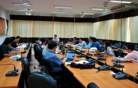 รูปภาพ : การประชุมโครงการขยายผลการจัดการศึกษาแบบบูรณาการการเรียนรู้ถึงการทำงาน