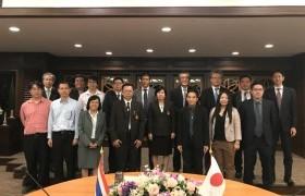 รูปภาพ : การประชุมร่วมกับคณะผู้แทนจากบริษัท Okaya CO., Ltd. ประเทศญี่ปุ่น