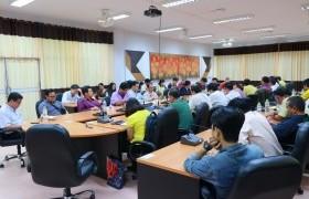 รูปภาพ : ประชุมการสร้างความเข้าใจการบริหารงานคณะวิศวกรรมศาสตร์รูปแบบใหม่และแผนปฏิบัติราชการประจำปีงบประมาณ 2562