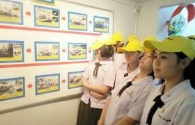 รูปภาพ : หลักสูตรเตรียมบริหารธุรกิจ วิทยาลัยฯ นำนักศึกษาดูงานนอกห้องเรียน ที่ บริษัท ฟูจิคูระประเทศไทย จำกัด นิคมอุตสาหกรรม จังหวัดลำพูน
