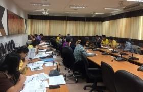 รูปภาพ : ประชุมเตรียมความพร้อมในการรับสมัครนักศึกษาใหม่ ประจำปีการศึกษา 2562