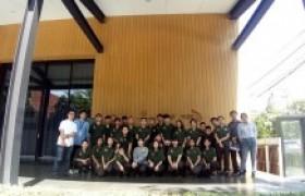รูปภาพ : นักศึกษาหลักสูตรเตรียมสถาปัตยกรรมศาสตร์ เยี่ยมชมและศึกษาดูงาน ที่ ศูนย์สร้างสรรค์งานออกแบบ สาขาเชียงใหม่ (TCDC Chiangmai)