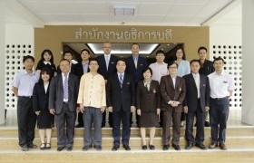 รูปภาพ : การประชุมร่วมกับคณะผู้บริหารจาก Kunming University of Science and Technology (KUST) สาธารณรัฐประชาชนจีน